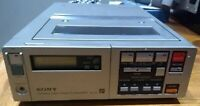 Unusual Vintage Sony Betamax SL-F1E Portable Video Cassette Recorder