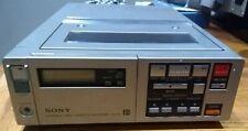 Unusual Vintage Sony Betamax SL-F1E Portable Video Cassette Recorder