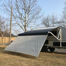 ALEKO RV Deluxe Awning Sun Screen - 16 x 6 Feet - Gray Mesh