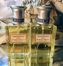 *WOODS by ABERCROMBIE & FITCH* *(2) BOTTLES OF 1.7 EDC FL OZ EACH* *VINTAGE SET*