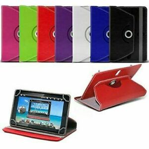 Case For Lenovo Tab E10 E7 E8 Tablet PU Leather Cover 360 Rotating Stand Holder