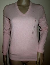 TOMMY HILFIGER NWT Womens V-Neck Sweater*Extra Small*Long Sleeve*