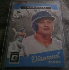 2017 Donruss Optic, Diamond Kings, Corey Seager Los Angeles Dodgers. Card #14.