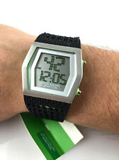Orologio BENETTON DIGITALE GOMMA RUBBER WATCH LED ILLUMINAZIONE INTROVABILE! NEW