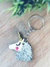 UNICORN  keyring gift party bags xmas stocking filler present
