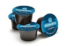 100 capsule caffè COVIM miscela SUAVE DEK compatibili Lavazza BLUE cialde deca