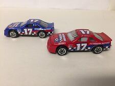MATCHBOX FORD THUNDERBIRD #17 NASCAR RACE CARS x2  c