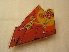 BALLY 1969 ZIP-A-DOO PINBALL MACHINE GAME PLAYFIELD TOP LEFT PLASTIC!