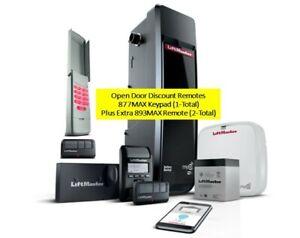 Liftmaster 8500W-267 Garage Door Opener MyQ enabled battery, 877MAX & 2-893MAX