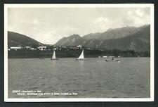 Levico ( Trento ) : Lago e Cima Dodoci - cartolina viaggiata nel 1957