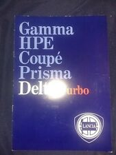 Lancia Delta Brochure turbo