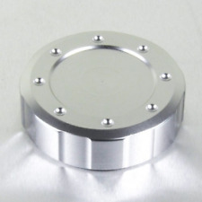 Pro Bolt Aluminium Round Thread 61mm Reservoir Cap - Silver