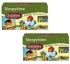 Celestial Seasonings, Sleepytime Herbal Tea, Tea Bags, 20 Count (Pack of 2)