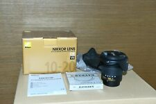 NIKON NIKKOR AF-P DX 10-20mm f/4.5-5.6G VR - with RAYDAWN UV Filter