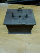 VINTAGE WESTERN ELECTRIC CANDLESTICK RINGER BOX  UNTESTED