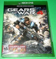 Gears of War 4 Xbox One w/ 4 Bonus Games!  *New! *Sealed! *Free Shipping!