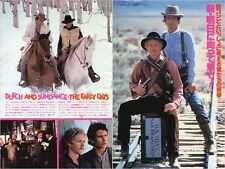 WILLIAM KATT TOM BERENGER Butch and Sundance Early Days 1979 JPN Clippings #TJ/U
