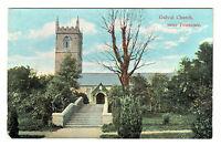 Gulval Church - Near Penzance Photo Postcard c1910