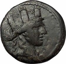 SYNNADA in PHRYGIA 133BC Tyche Zeus Original Authentic Ancient Greek Coin i57705