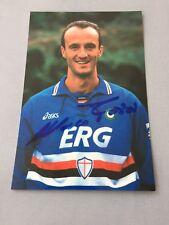 MARCO ROSSI Sampdoria Genua signed seltene Autogrammkarte 10 x 15