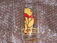 "Tigger/Winnie the Pooh Drinking Glass 6"" Anchor Hocking, vintage rare w/upc on"