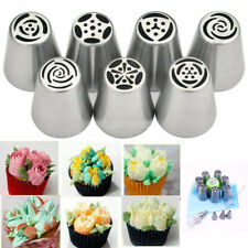 15pcs/set Russian Leaf Flower Icing Piping Nozzle Tips Cake Topper Baking Tools
