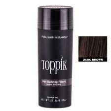 2x TOPPIK Schütthaar Haarverdichter Hair Building Fibers 27.5g Dunkelbraun