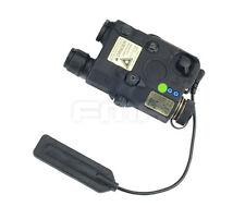 Fine Black Upgrade Version PEQ LA5 LED White light+Green laser with IR Lenses