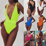Sexy Womens One Piece Bikini Swimwear Swimsuit Bathingsuit Beach Monokini Padded