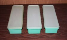 3 TUPPERWARE THIN STOR STORAGE CONTAINERS