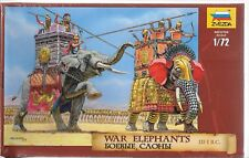 Zveda War Elephants III-I BC in 1/72   8011 ST