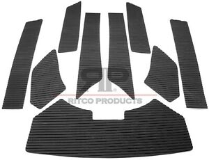 Sea-Doo GTX 1996 - 2001 / GTI 1997 - 2000 Traction Mat Kit foot pads Seadoo