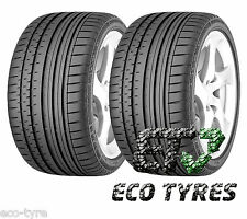 2X Tyres 265 45 R20 104Y Continental ContiSportContact 2 MO E B 72dB FR