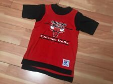 Vintage 1990'S Chicago Bulls Tank Top T Shirt With Front And Back Graphic Made I