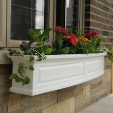 Mayne Nantucket Window Box Planter 5FT White 4832-W