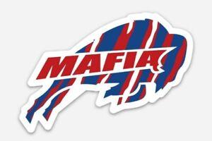 Buffalo Bills Mafia MAGNET Vinyl NFL Football NY Bill Waterproof Car Fridge