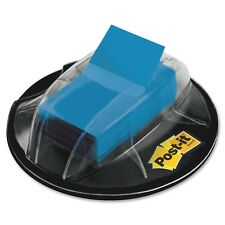 Post-it Flags, Blue, 1-Inch Wide, 200/ Desk Grip Dispenser (Mmm680-Hvbe)