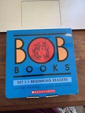 EUC SCHOLASTIC BOB BOOKS SET 1 BEGINING READERS