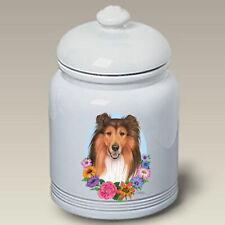 Collie Sable Treat Jar