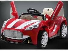 12V Kids Maserati Style Ride On Car Battery Power Remote Control R/C Wheels Red