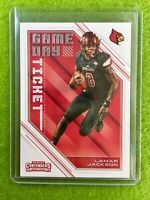 LAMAR JACKSON RC ROOKIE CARD JERSEY #8 LOUISVILLE  2018 Panini Contenders RAVENS