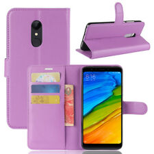 For Xiaomi Redmi 5 Plus Note 4 4X 5A A1 Magnetic Leather Wallet Flip Case Cover