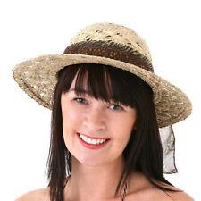 Chapeaux Panama en paille pour femme