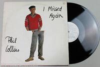 """PHIL COLLINS I Missed Again 12"""" UK 1981 Virgin VS402-12 NrMINT vinyl  genesis"""
