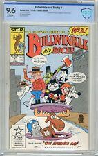Bullwinkle & Rocky #1  CBCS  9.6  NM+  White pgs 11/87   1st App. Rocky & Bullwi