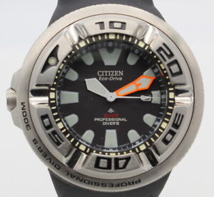 CITIZEN PROMASTER 300M ECO-DRIVE MENS DIVER WATCH WITH RUBBER BAND NR #WB18-10