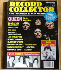 Record Collector, February 2000, Queen, Marilyn Manson, Lee Hazlewood, Seafood