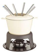 Kitchen Craft Master Class - fondue de hierro fundido esmaltado (con 6 Tenedo...
