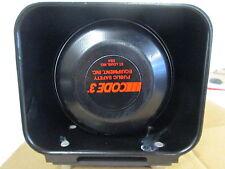 CPI Code 3 US206 SH4010 SA4219 Siren Speaker 100W with Mount NEW