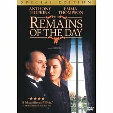 The Remains of the Day (Special Edition) DVD ~ Anthony Hopkins Factory SEALED
